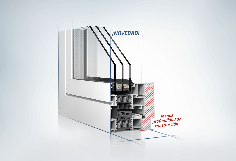 insulbar LO: Perfil aislante con lambda optimizado para marcos de metal